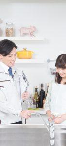 キッチンや洗面台などの入れ替えリフォーム